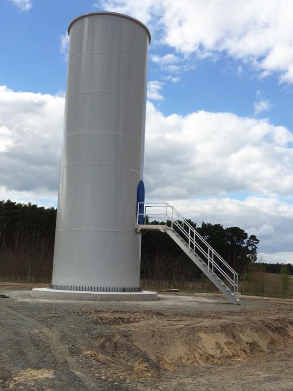 Windpark Luedersdorf II 3U ENERGY-PE Baufortschritt April 2016 5